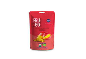 2GO!  Organic Dried Fruit and Eco-Bags - Oroganic Dried Mango
