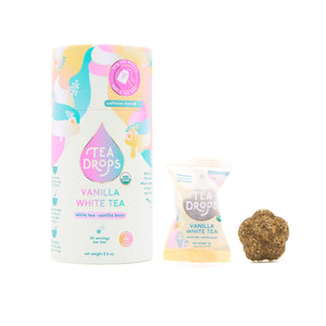 Organic Tea Drops! Vanilla White Tea - Masala My Life