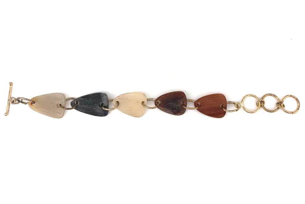 Omala Triangles Link Bracelet (Sustainable)