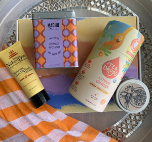 Luxe Orange Blossom Gift Box