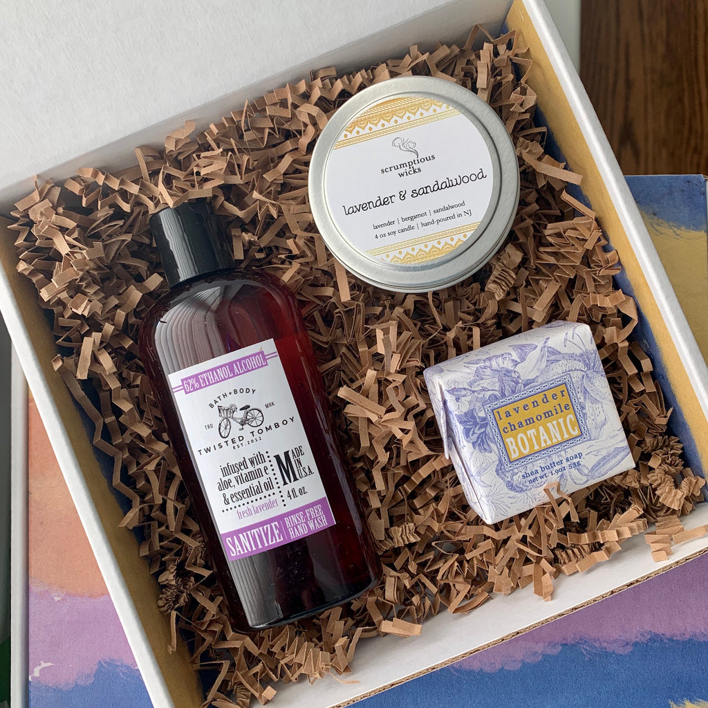 Lovely Lavender Gift Box
