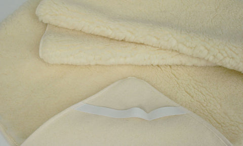 Pure New Wool Mattress Cover