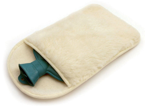 100% Pure New Wool Hot Water Bottle Cover