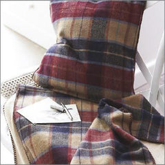Tweed Lap Blankets and Cushion Covers