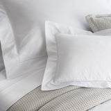 Pure European Linen 1100 Oxford Pillowcase with Hemstitching