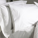 Egyptian Cotton Flat Sheet with 5 Row Cording 400tc by Peter Reed
