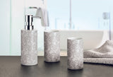 Spritze -  Silver Grey Lace Effect Porcelain Bathroom Accessories