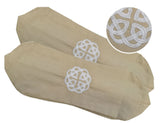 180 thread count 100% Cotton Celtic Knot design Neck Bolster Case