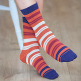 Elizabeth Luxury Ladies Cotton Socks
