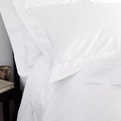 Pure Irish Linen 1200 Pillowcase - 1 Row Hemstitch