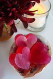 Handmade Heart Shape Rose Scented Soap - Pack of 3