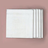 Ladies 100% Cotton Value Handkerchiefs - Pack of 6