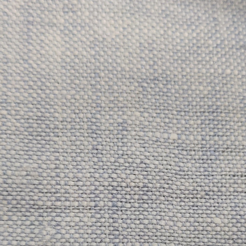 Blue Linen Chambray Pillowcases
