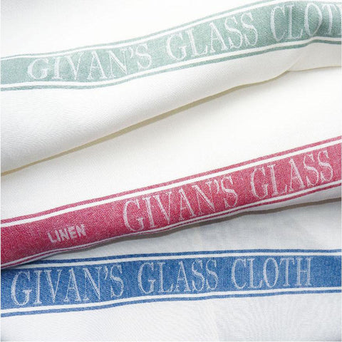Luxury Pure Irish Linen Glass Cloth