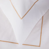 Savile Cord Cotton Duvet Cover - Rose Gold