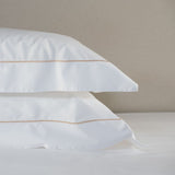 Savile Cord Cotton Pillowcase - Rose Gold