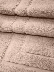 Taupe Lightweight Cotton Bath Mat