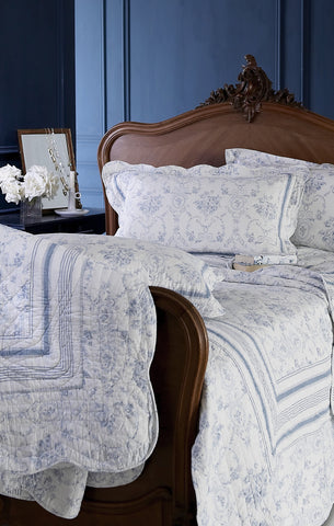 Vienna, Cotton Feel Microfibre Bedspread and Pillow Sham Set - LAST CHANCE TO BUY