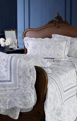 REDUCED TO CLEAR . Vienna, Cotton-Feel Microfibre Bedspread and Sham set