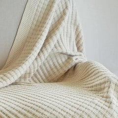 Cable Knit & Bakset Knit Throws - LAST CHANCE TO BUY