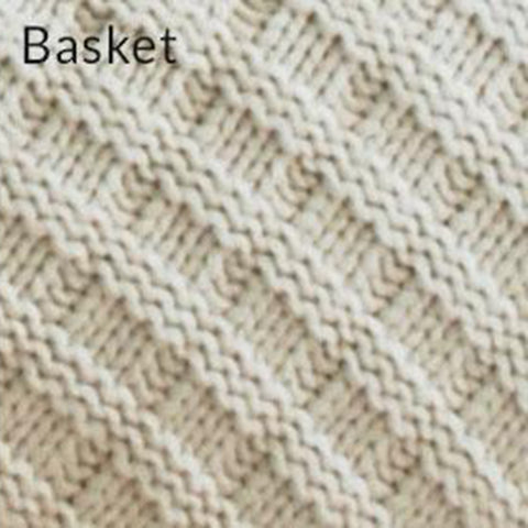 Cable Knit & Basket Knit Throws