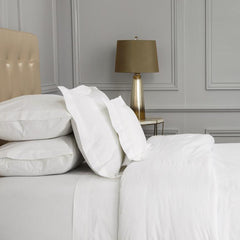 Duvet Cover 240tc Egyptian Cotton with 4 Row Cording by Peter Reed
