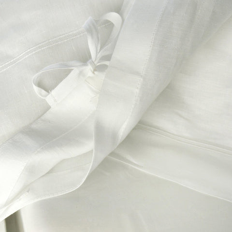 Duvet Cover - Pure Irish Linen 1300 with 2 Row Cording
