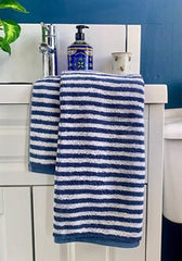 Campus - 100% Combed Cotton Striped Towels