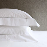 Savile Cord Cotton Pillowcase - Silver