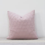 Stockholm Blush Pink Cotton Throw Cushion