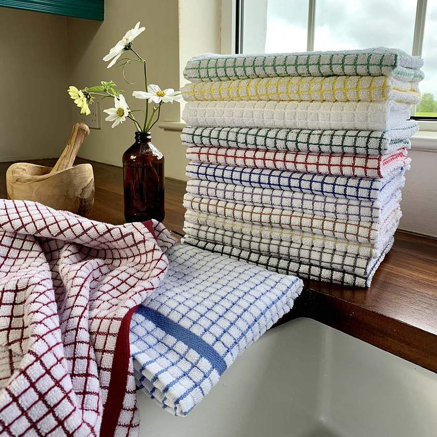 Visit our bath shop for luxurious towels and robes