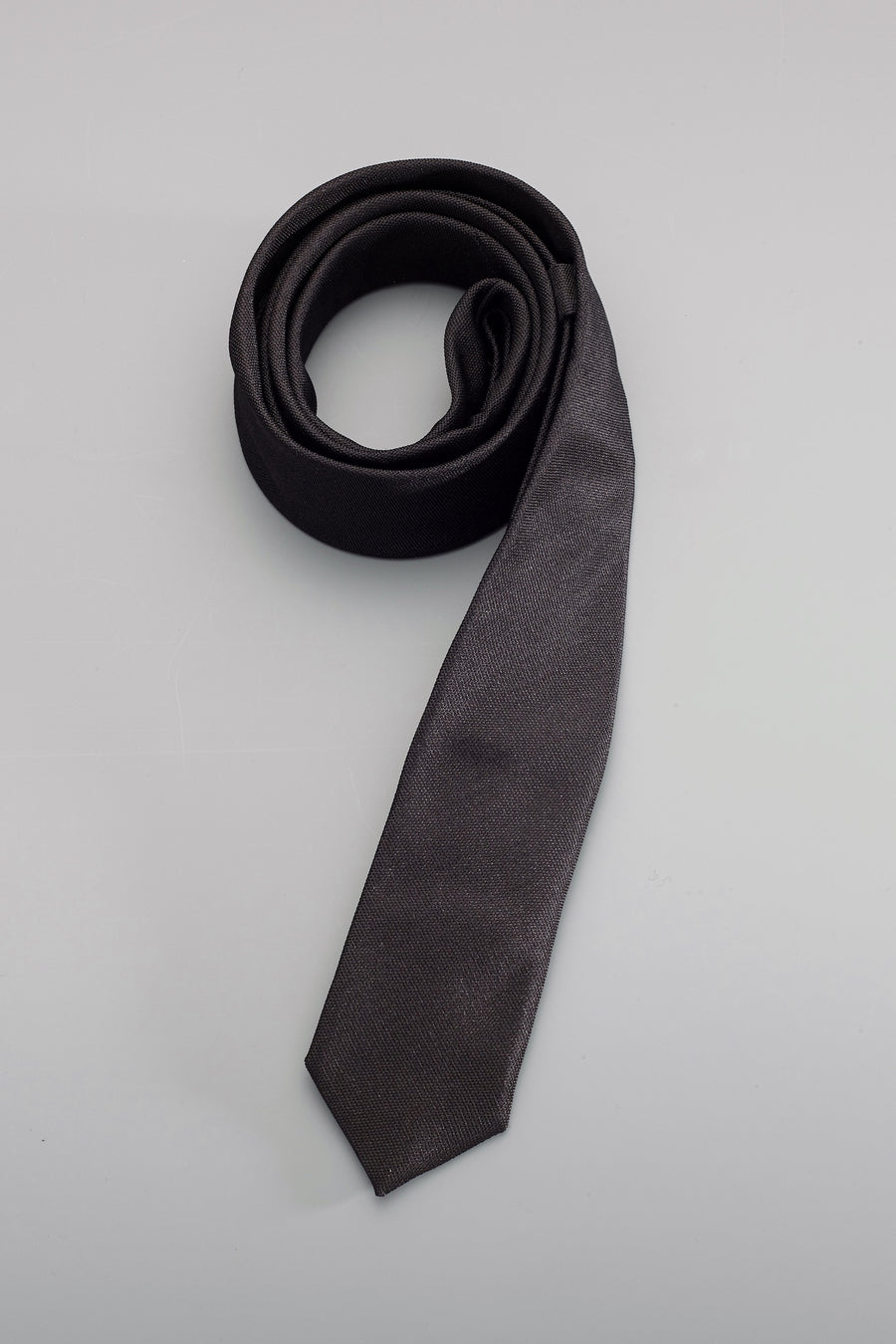 The Awe Black Skinny Tie