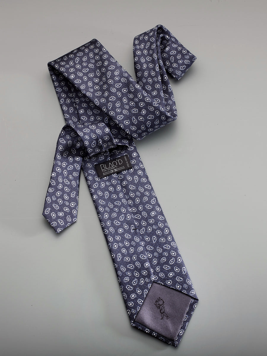 The Sola O. Printed Jacquard Tie