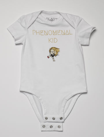 Onesie. Phenomenal Kid. Cotton Blend