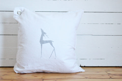 elegant deer pillow.