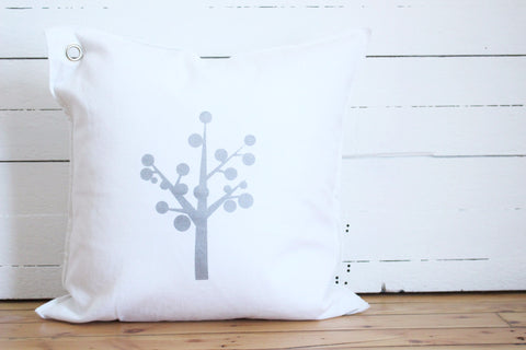 ornament tree pillow