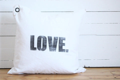 love. pillow
