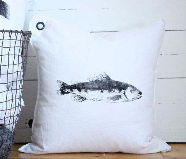 fish. pillow