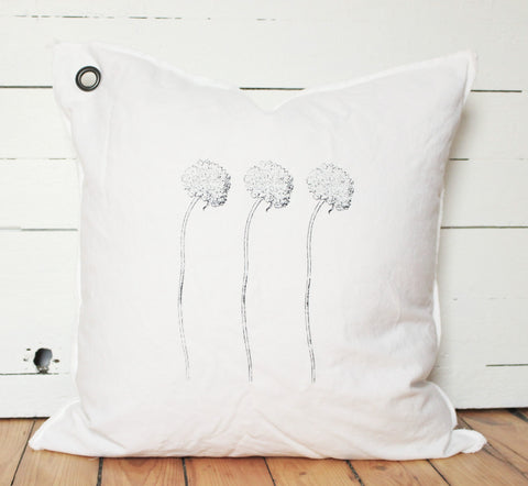 flowers. pillow