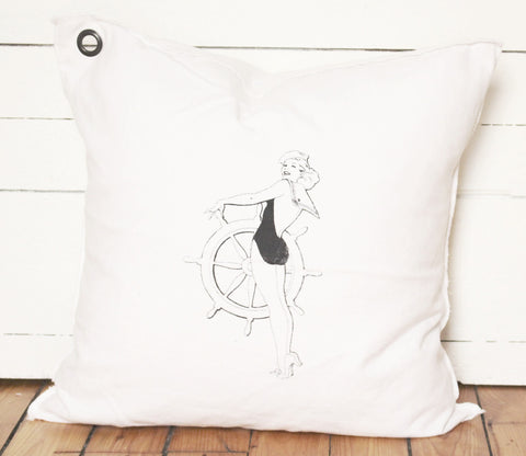 pin up sailor pillow