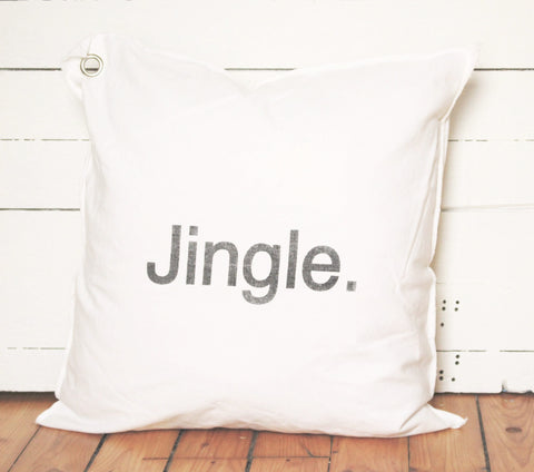 jingle pillow