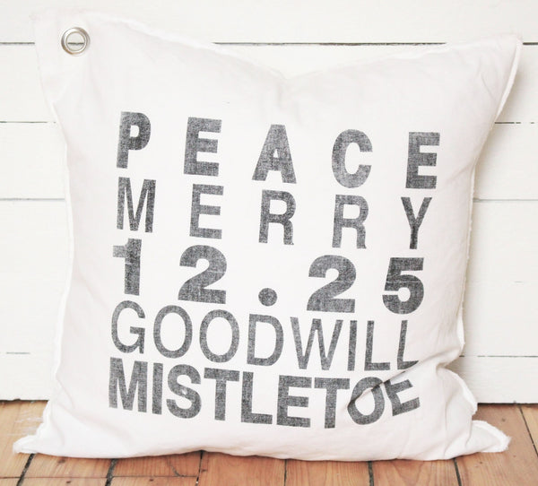 Christmas 6-line pillow