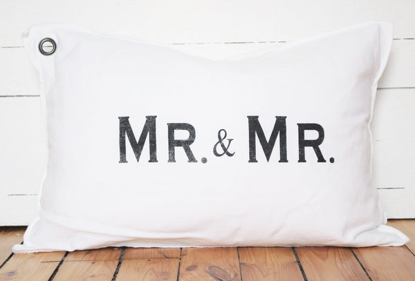 mr. + mr. pillow
