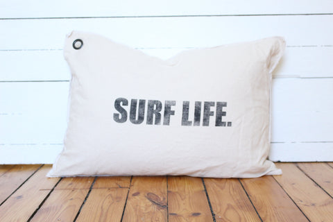 surf life pillow