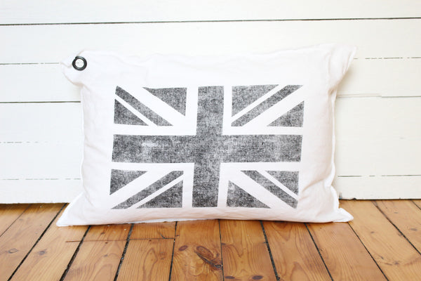 union jack. pillow