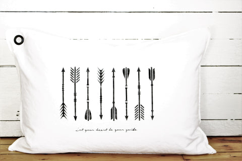 arrows. pillow