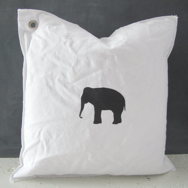 ella the elephant mini pillow
