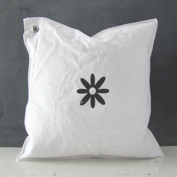 petals the flower mini pillow