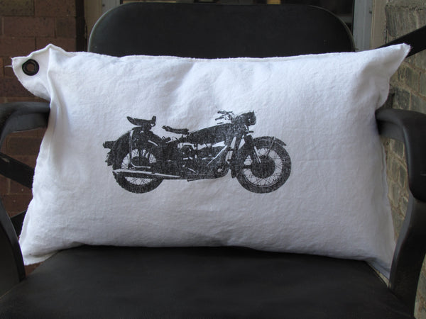 motorcycle pillow