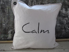 calm. pillow